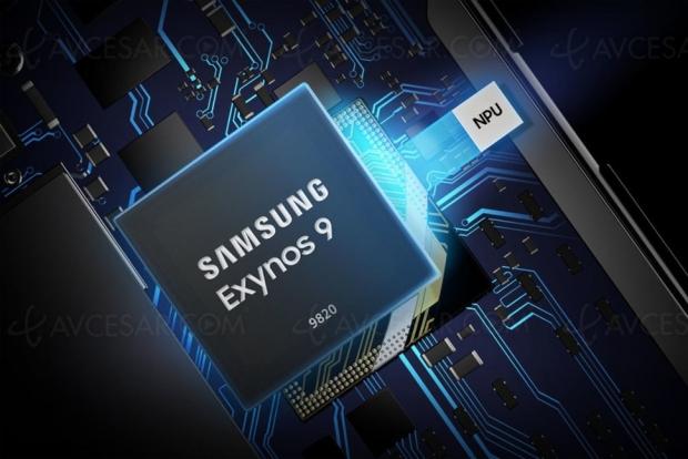 Samsung dévoile l'Exynos 9820 compatible 8K à 30 im/s : la puce du Galaxy S10 ?