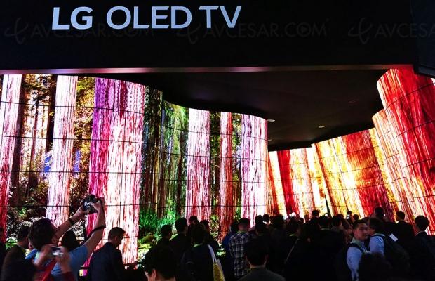 TV Oled, LG annonce avoir vendu plus de 3 millions d'exemplaires
