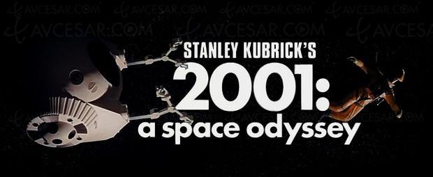 2001, l'odyssée de l'espace8K remastering: la déception duSDR