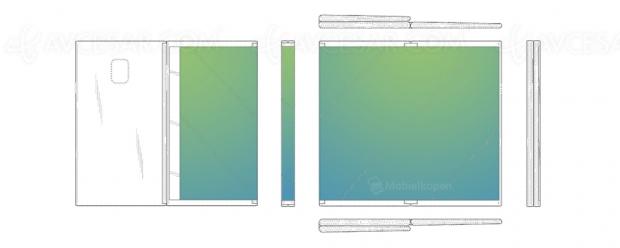 Après le smartphone, Samsung plie aussi les tablettes(entrois)