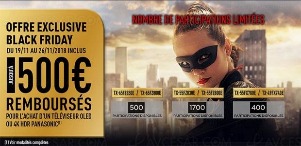 Black Friday Week, TVOledUHD etTVLEDUHD Panasonic, jusqu'à 500€remboursés