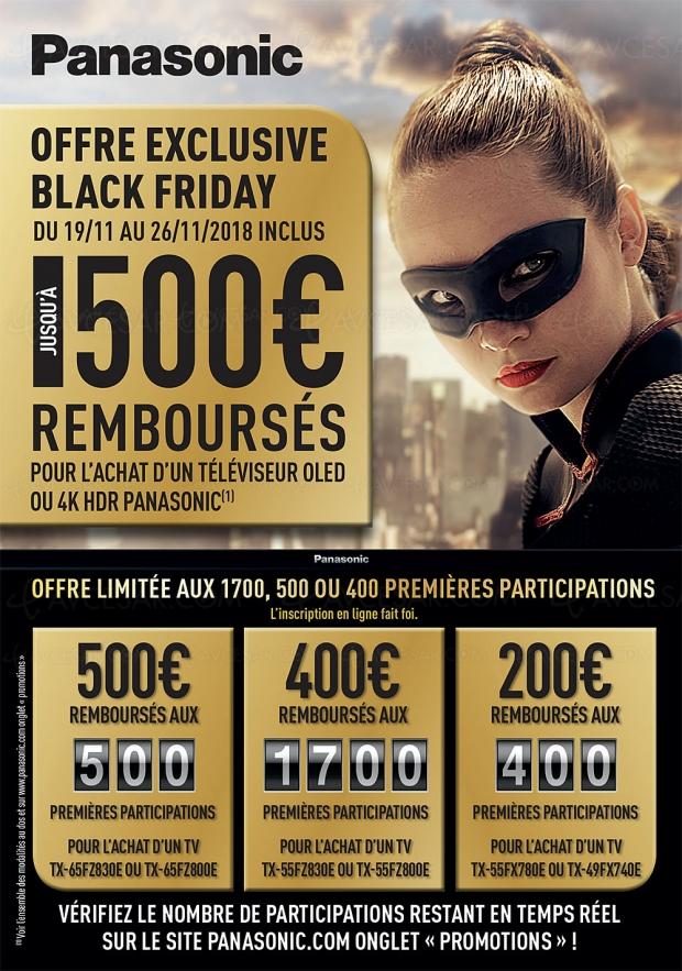 Black Friday Week, TVOled PanasonicTX‑65FZ800 à1827€, priximbattable