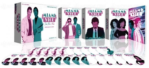 Miami Vice (Deux flics à Miami), l'intégrale de la série des années 80 restaurée en HD