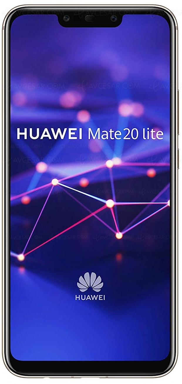 Black Friday Week, smartphone Huawei Mate20Lite 64Go Violet à299€, soit100,25€ deremise