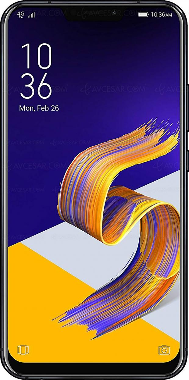 Black Friday Week, smartphone Asus ZenFone5ZE620KL 64Go Violet à348,99€, soit30% deremise