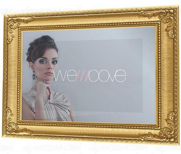Nouveau téléviseur miroir hauteluminosité signéWemoove