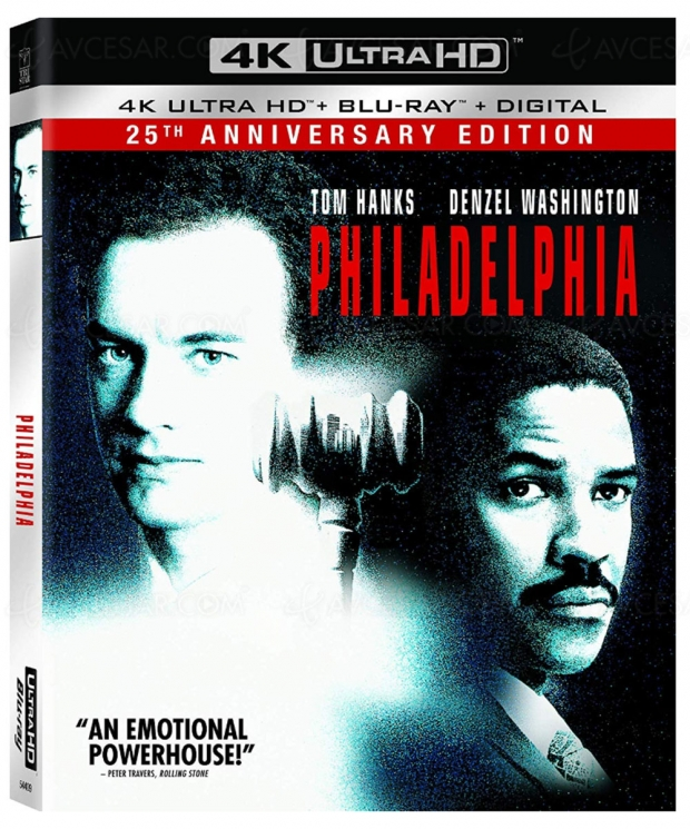 Philadelphia, Tom Hanks, Bruce Springsteen… 25e anniversaire en 4K Ultra HD Blu‑Ray