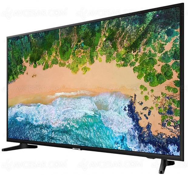 Black Friday Week, TV LED SamsungUE65NU7025 à749 € soit38% deremise