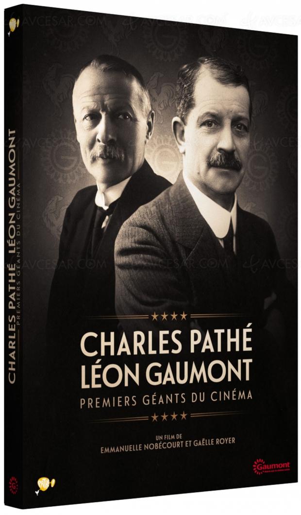 L'histoire des premiers géants de l'industrie du cinéma: Charles Pathé et LéonGaumont