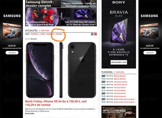 Profitez des meilleures offres BlackFriday duNet d'un seul coupd'œil