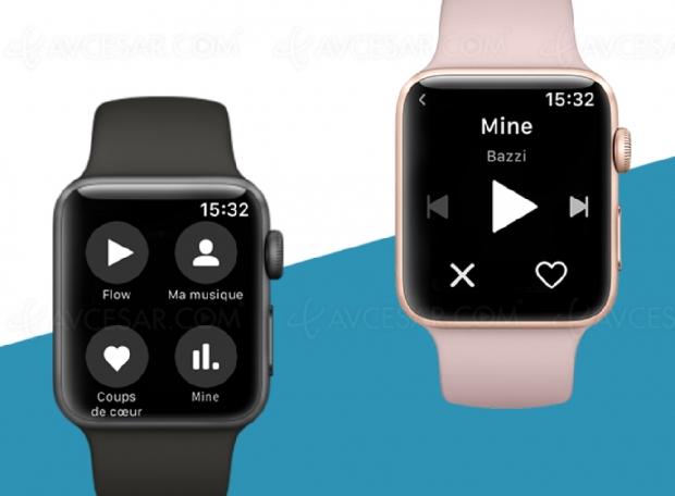 Nouvelle application Deezer pour AppleWatch