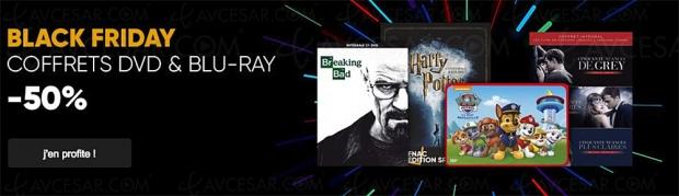 Black Friday Week, 23coffrets 4KUltraHD Blu‑Ray à-50%