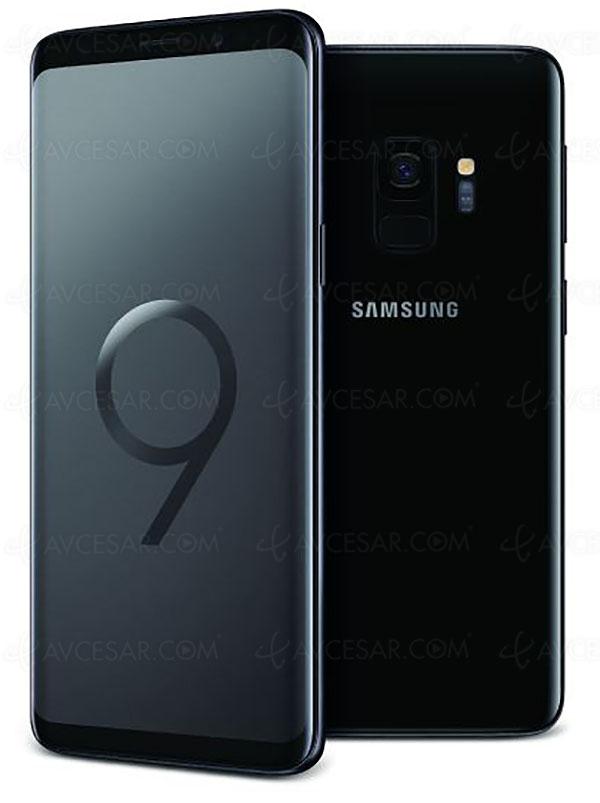 Black Friday Week, smartphone Samsung GalaxyS9 à559€ soit35% deremise