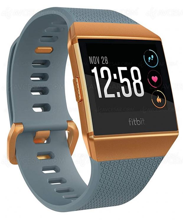 Black Friday, montres connectées FitbitVersa etFitbitIonic jusqu'à35% deremise