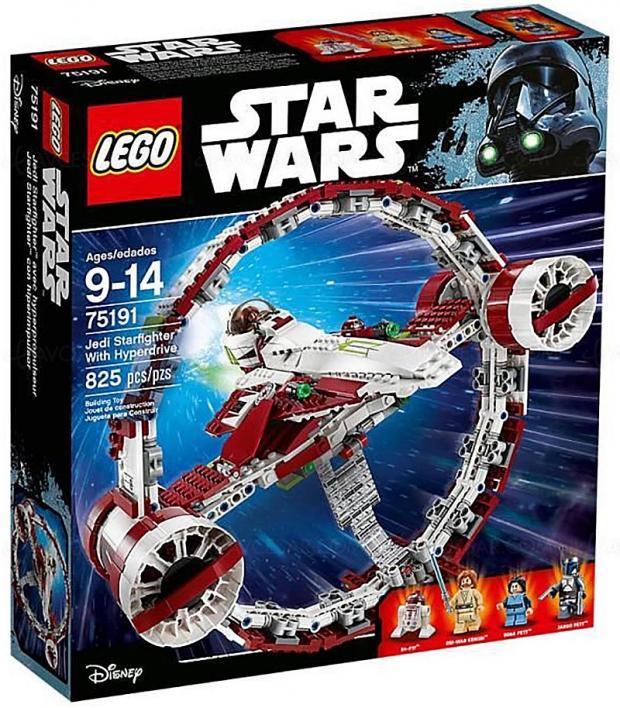 Black Friday Week, jouet Lego StarWars JediStarfighter avechyperdrive à42% deremise