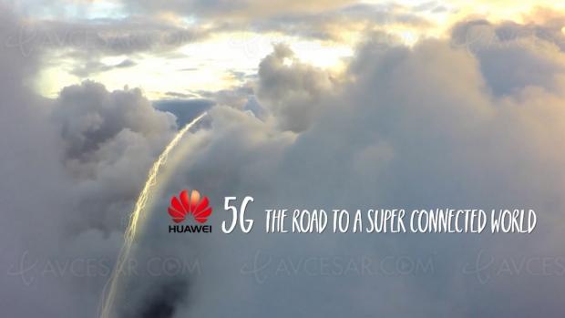Huawei dévoile ses premiers routeurs5G
