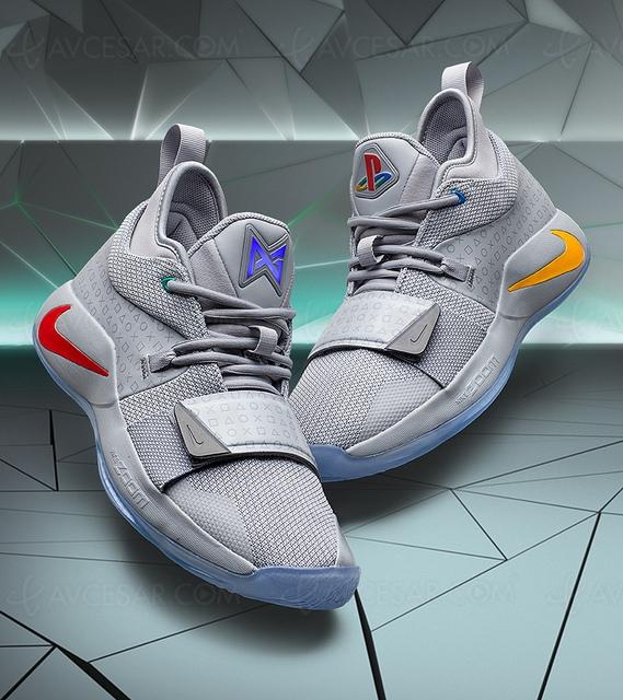 Paul George, PlayStation etNike reviennent avec les chaussuresPG2.5