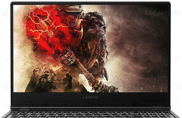 Cyber Monday, PC Gaming Lenovo LegionY530‑15ICH à699€, soit30% deremise