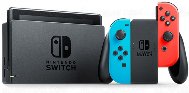 Cyber Monday, console Nintendo Switch à 279,99 €, soit 15% de remise