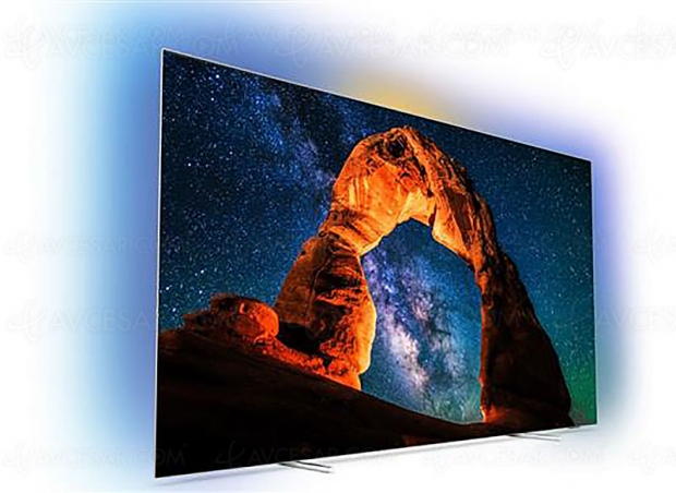 Cyber Monday, TV Oled Philips 55OLED803 à 1 569 € soit 730 € de remise