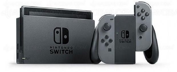Cyber Monday, console NintendoSwitch avec Joy‑Con gris à264,99€, soit17% deremise