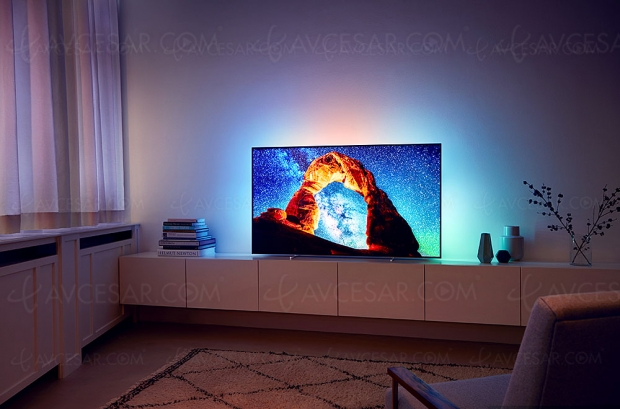Test TV Oled Ultra HD Philips 55OLED803, en ligne