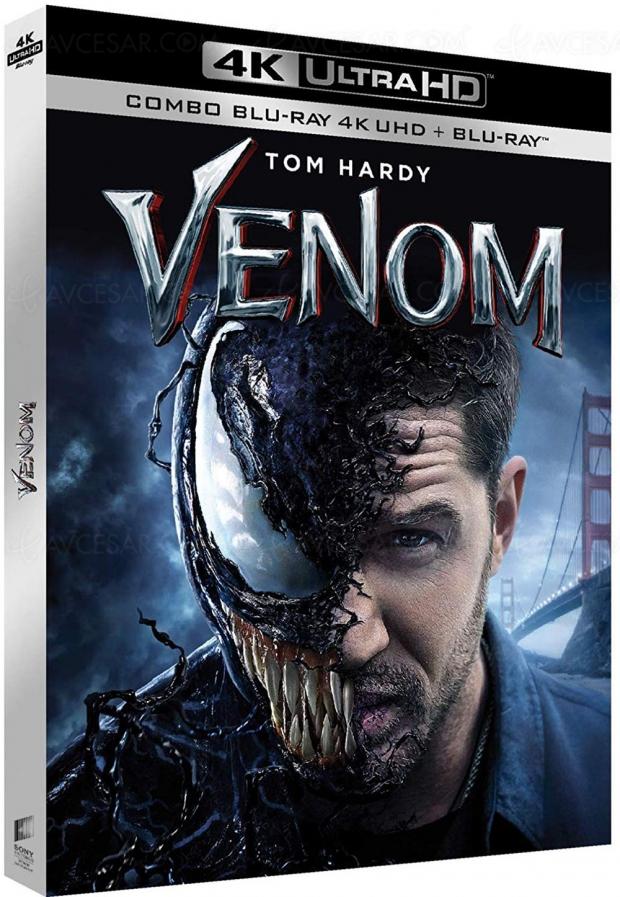Venom 4K UltraHD Blu‑Ray, sortie en vue?