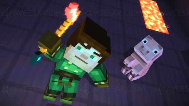 Minecraft : Story Mode sur Netflix