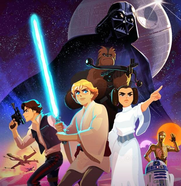 Star Wars Galaxy ofAdventures, série pour introduire les enfants à l'univers StarWars