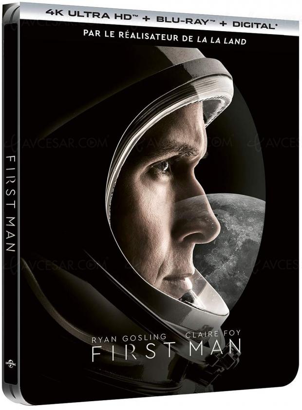 First Man : un petit pas pour l'Homme à revivre en 4KUltraHD et Imax le 20février