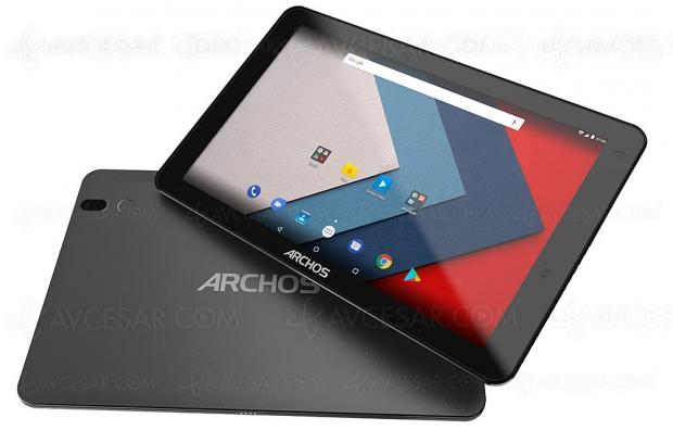 Nouvelle tablette Archos Oxygen 101 S