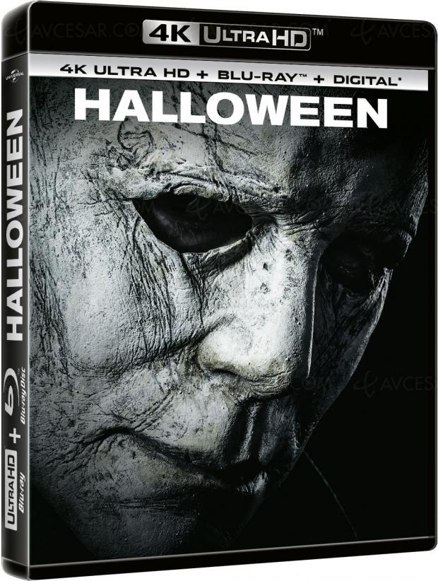 Halloween 4KUltraHD Blu‑Ray, tous les détails et visuelsfrançais