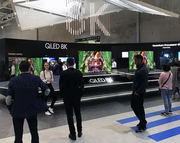 CES 19 > TV Samsung QLED8K100'' présenté auCES2019?