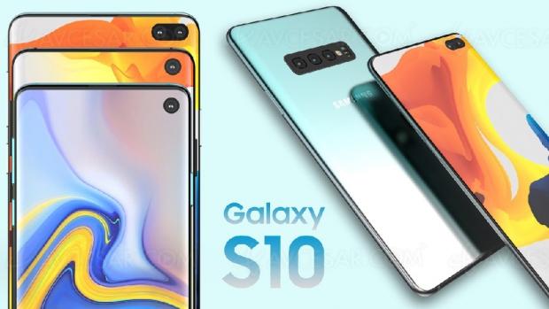 Samsung Galaxy S10 Lite, S10 et S10 Plus : design, fuites, détails et prix