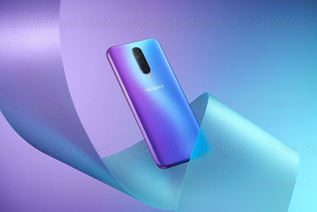 Smartphone Oppo RX17 Pro, petit frère du Find X