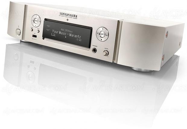 Marantz NA6006, lecteur réseau/convertisseur multiroom Hi‑Fi