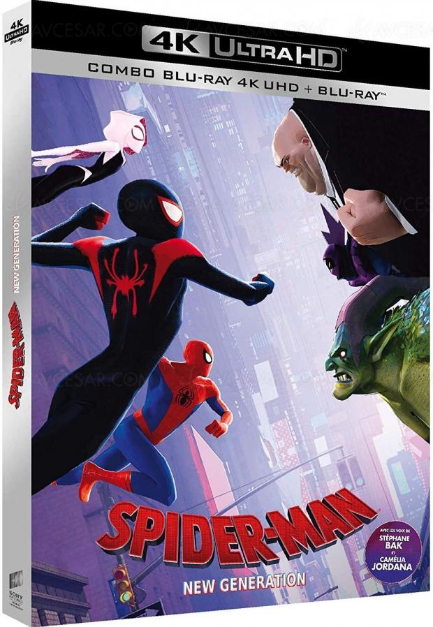 Spider‑Man: New Generation, le 17avril en 4KUltraHDBlu‑Ray