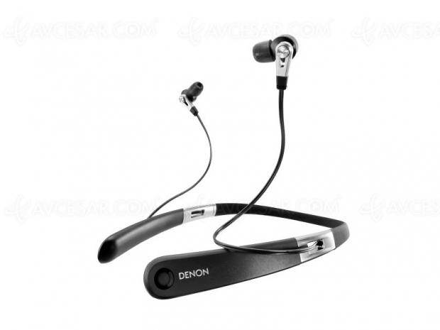 Denon AH-C820W, écouteurs Bluetooth 5.0 APT‑X et double transducteur