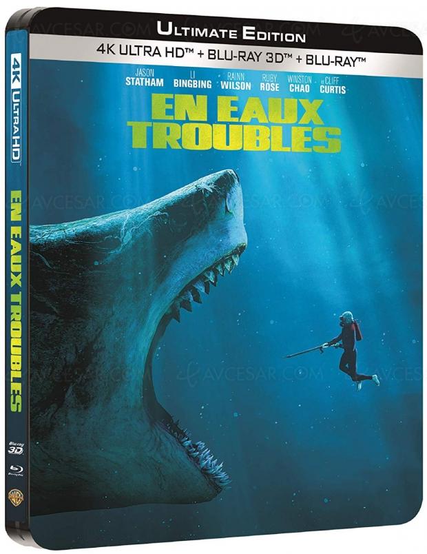 En eaux troubles 4K Ultra HD : baignade non surveillée avec Jason Statham
