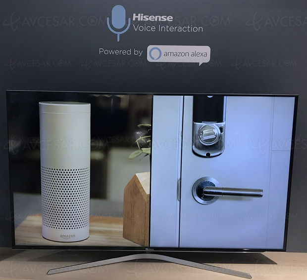 CES 19 > Android TV, Vidaa U 3.0 et Amazon Alexa au menu des TV Hisense 2019