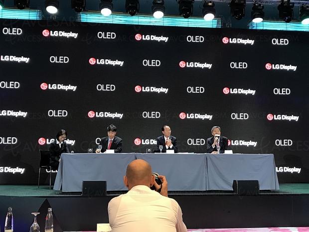 LG Display compte fournir plus d'1million de panneaux OledTV aux constructeurs japonais en2019