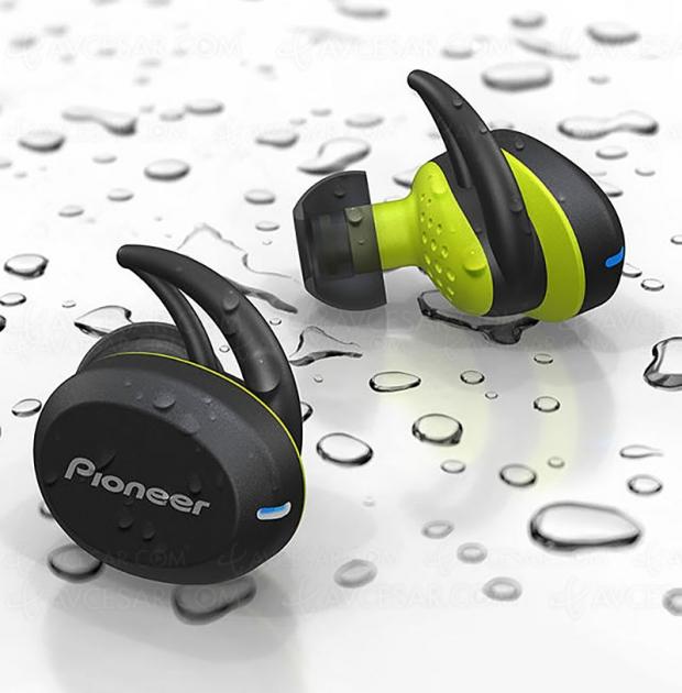 Nouveau casque intra‑auriculaire Bluetooth PioneerE8 certifiéIPX5