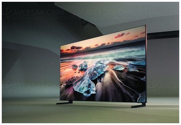 Test TV QLED 8K Samsung 75Q900R, en ligne