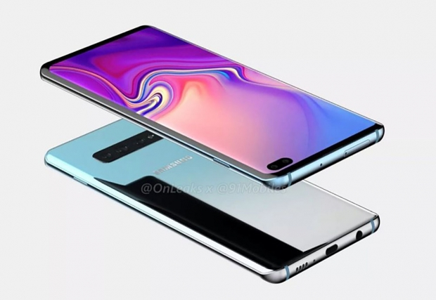 Smartphone Samsung GalaxyS10 déjà enproduction