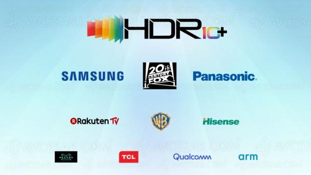 Technologie HDR10+ adoptée par Hisense, TCL, Qualcomm, ARM, Rakuten, Megogo…