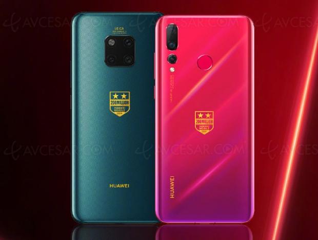 Huawei Mate 20Pro etNova4 Collector pour fêter 200millions de smartphonesdistribués