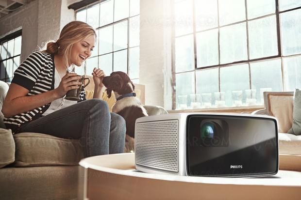 CES 19 > Philips ScreeneoS2, ScreeneoS4 etScreeneoS6, trois vidéoprojecteursLED ultra‑courte focale 720p, 1080p et2160p