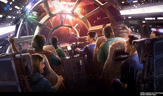 Prochaines attractions Disney Star Wars Galaxy's Edge en vidéo