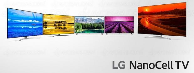 CES 19 > TV LCD NanoCell LG SM99 Ultra HD/8K et Ultra HD/4K LG SM8x et LG SM9x