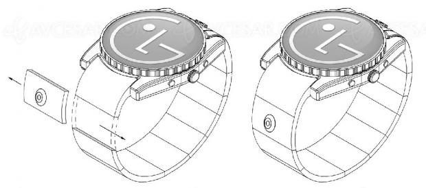 LG réfléchit à une caméra modulaire pour smartwatch, façon James Bond…